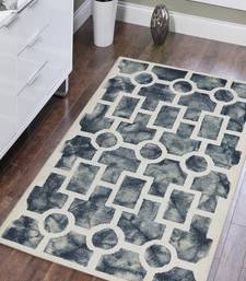 Hand Tufted Premium Geometric Pattern Area Rug 3'x5' (WxL)-Grey