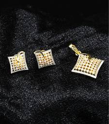 White american_diamonds Pendants