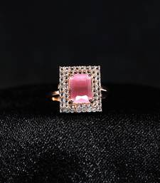 Pink american_diamonds Rings