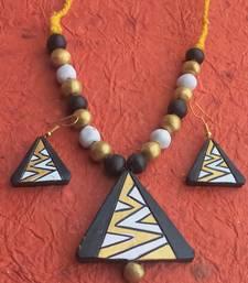 RozMili HandMade Terracotta jewellery set