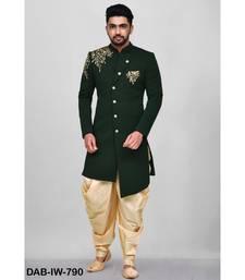 Scuba Silk  Indo Western sherwani