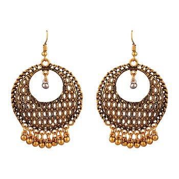 Black zircon   earrings