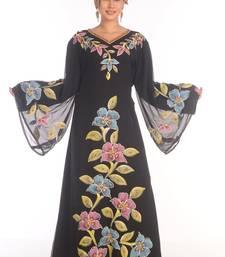 2021 New Modern Kaftan Farasha Maxi Zari Work Vary Fancy Abaya Dress