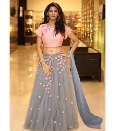 Designer Embroidery Pink Beauty Lehenga Choli