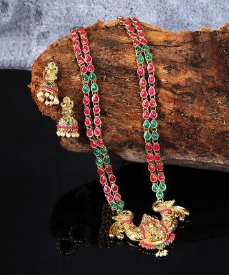 Designer Temple Jewellery Necklace Sets
