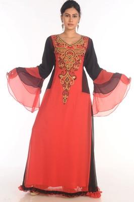 Popular Modern Kaftan Farasha Maxi Zari Work Vary Fancy Abaya Dress