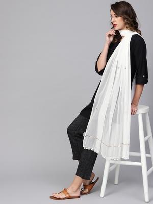 Saadgi Handmade cotton and Gotta Patti Dupatta
