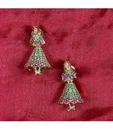 GORGEOUS TRADITIONAL LADIES DESIGNER AD EARRINGS