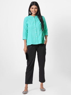 South cotton top with two pockets