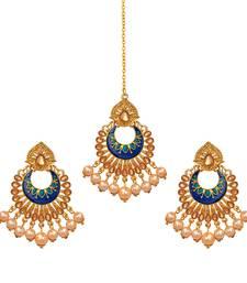 Brown pearl jewellery-combo