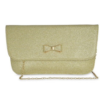 NFI essentials Wallet for Girl's Stylish Gold Clutch Hand Women's Wallet Card Holders Money Purse Mobile Pouch