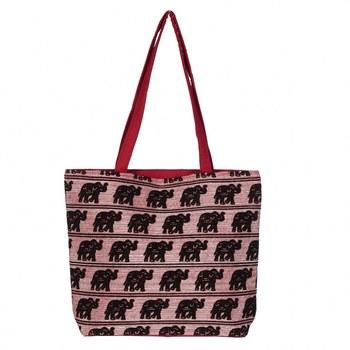 MAROON Rajasthani Handbags for Women