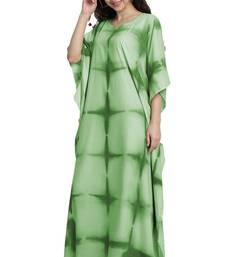 JSDC Occasion Wear Printed Cotton Tie Dye Women Free Size Kaftan Caftan