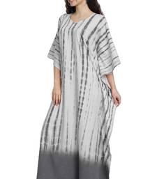 JSDC Outdoor Wear Cotton Printed Women Long Free Size Kaftan
