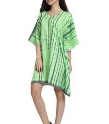 JSDC Free Size Women Short Printed Tie Dye Kaftan