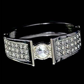 Silver  Kada Bracelet