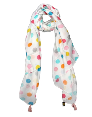 Appealing Muslin Fabric Multicolor Printed women scarf/Stoles