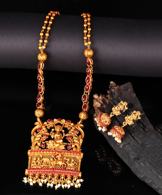 Temple Designer Jewellery Necklace Sets