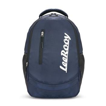 LeeRooy Blue Soft Fabric Laptop Bag