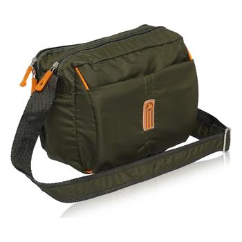 NFI essentials Men's Sling Bag Stylish Cross Body Travel Office Business Messenger Bag for Men Women (Green)