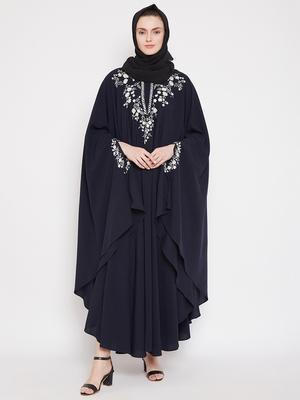 Blue embroidered kashibo islamic-kaftans