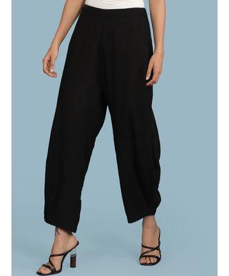Black Dhoti Pants