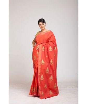 pink cotton sarees