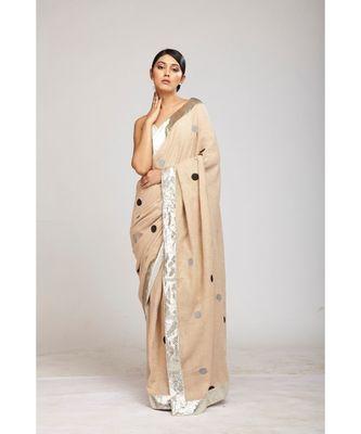 silver jute sarees