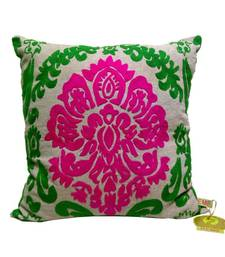 Buy Bold Embroidered Cushion Cover diwali-home-decor online