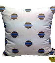 Buy Cushion Cover With Circled Embroidery  christmas-decor online