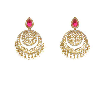 stylish pink Designer Earring