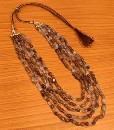 Grey necklaces