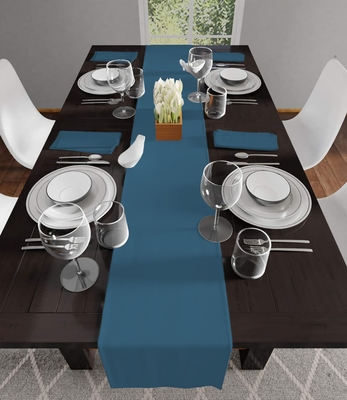 POSA Homes Table Runner For 6 Seater Table Size 16 Inch X 72 Inch