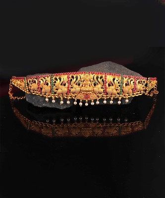 Gold plated Studded kamarband