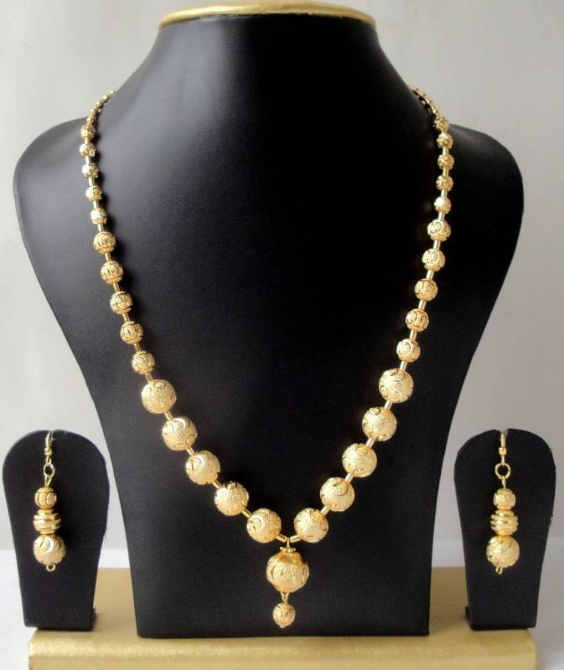 Buy GORGEOUS GOLD TONE UNIQUE DESIGN GOLDEN BALLS TRENDY FASHION ...