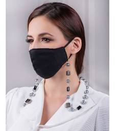 Durable Black and Grey Multipurpose Mask Chain