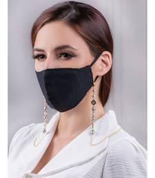 Beautiful Grey and Gold Multipurpose Mask Chain