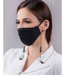Deluxe Green and Black Multipurpose Mask Chain