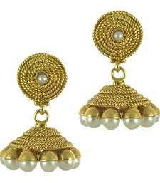 Buy White Pearl jhumkas eid-jewellery online