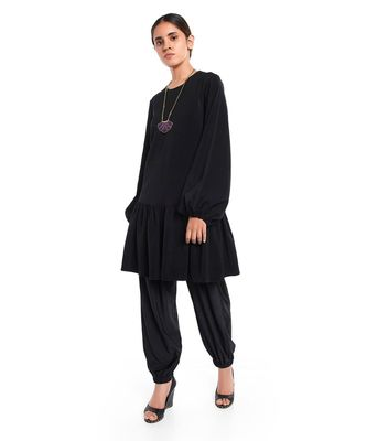 Georgette Frill Hem Tunic for Women