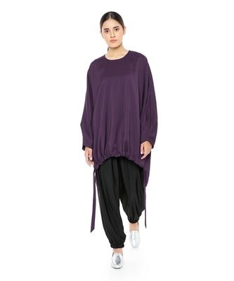 Georgette High-Low Kaftaan Tunic for Women