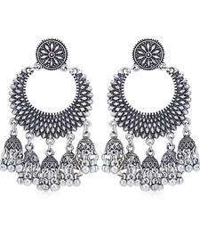 Sukkhi Trendy Oxidised Chandelier Earring for Women
