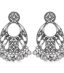 Sukkhi Marvellous Oxidised Chandbali Earring for Women