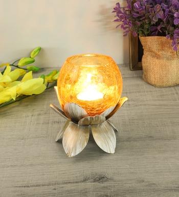 Lotus Small Tealight Holder
