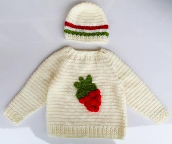 White hand woven woolen blends girls-jackets-coats