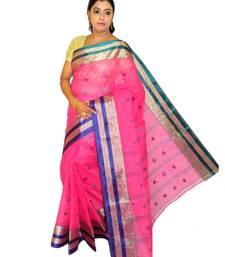 pink cotton sarees bridal
