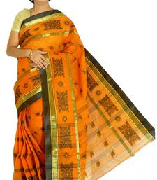 brown cotton sarees bridal