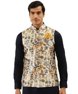 multicolor Viscose Jacket