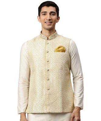 Cream silk Jacket
