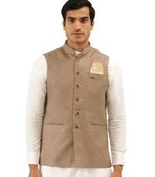 brown Jute Jacket